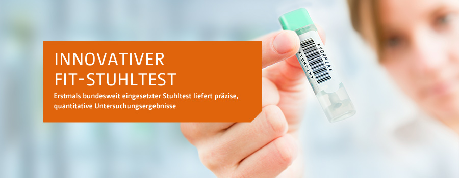 Innovativer IFOBT Stuhltest